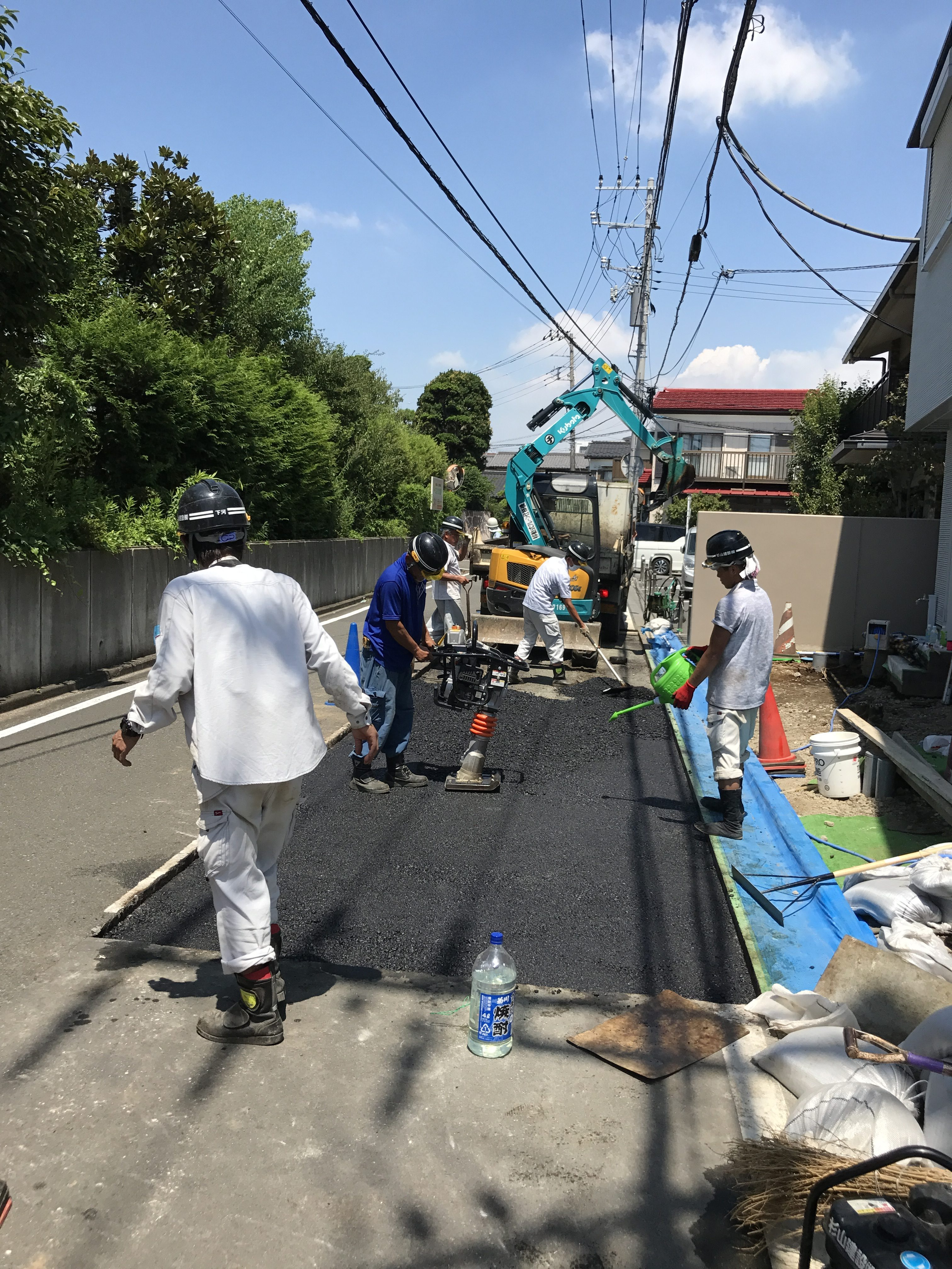 藤沢市円行道路排水修繕