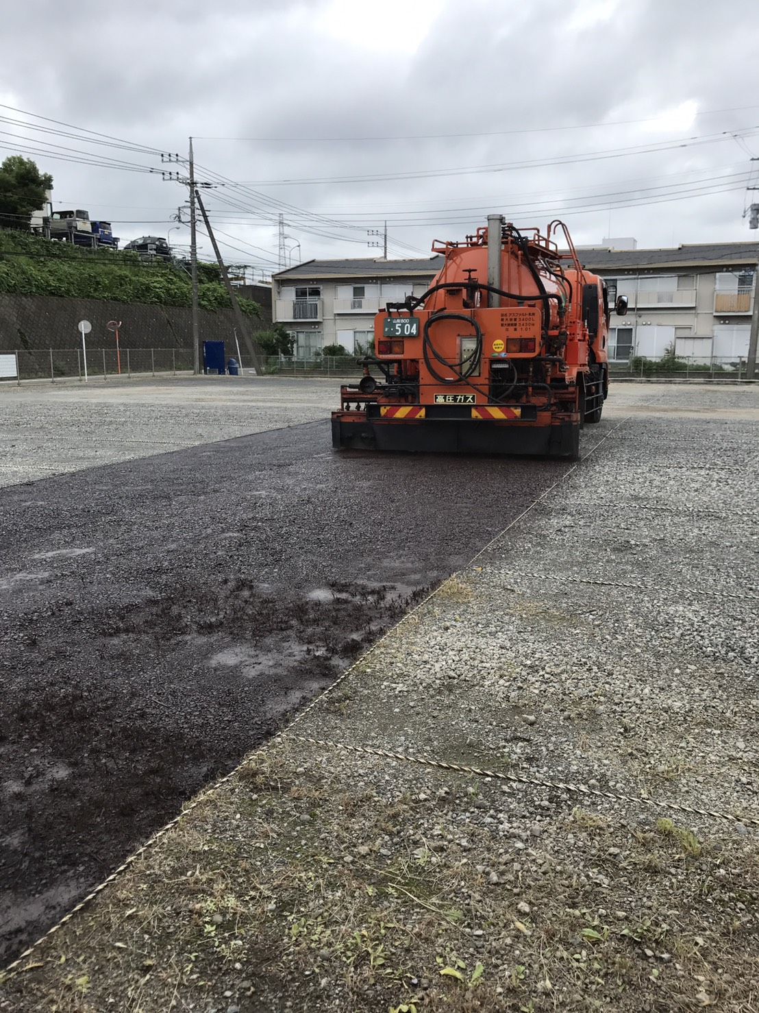 藤沢市O工業社員駐車場整備工事