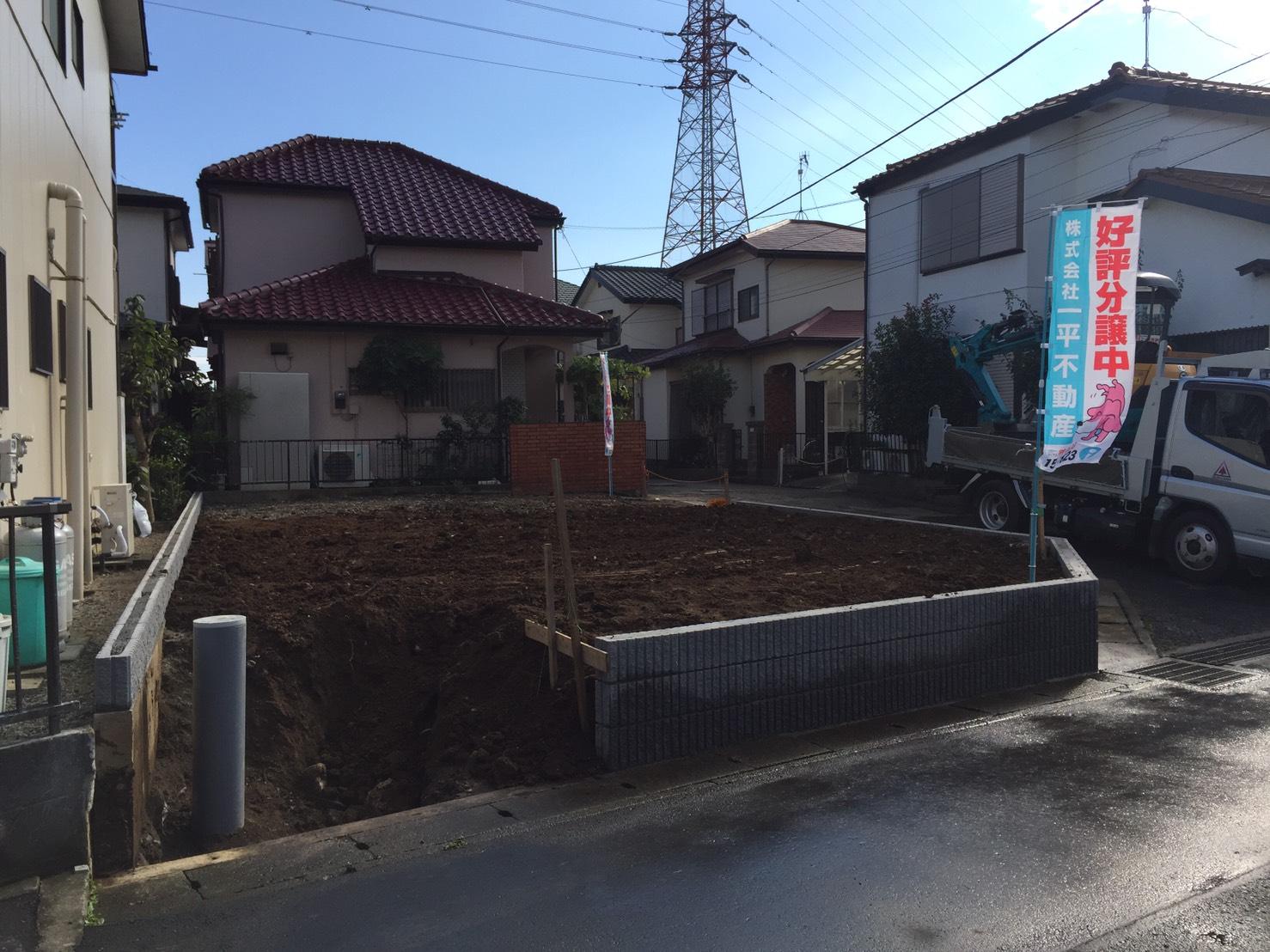 平塚市横内先行外構工事