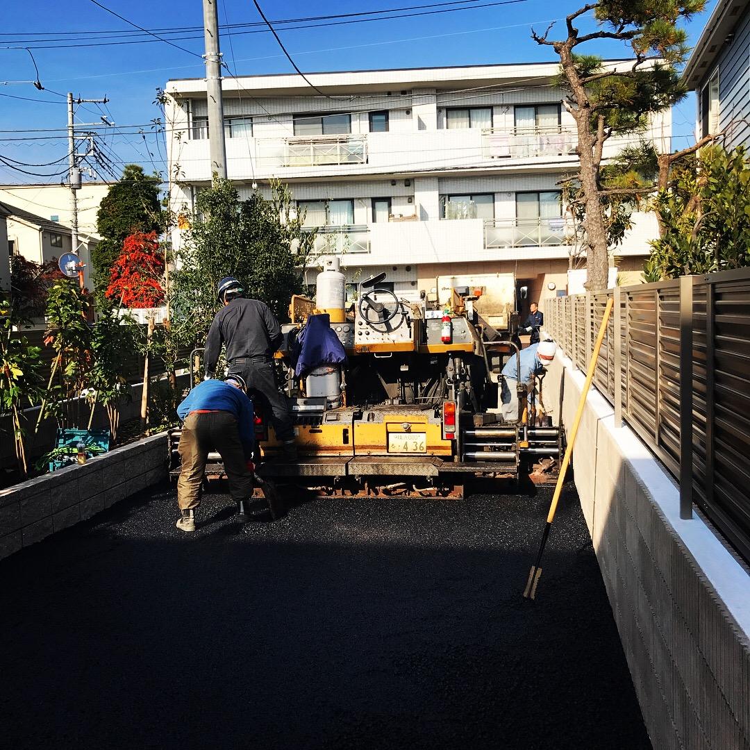 藤沢市鵠沼松が岡S様邸新築アパート外構工事