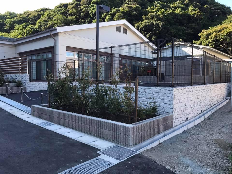 鎌倉市 腰越介護施設外構工事